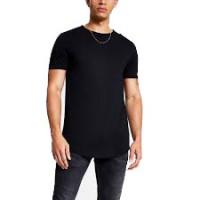 Black plain t-shirt