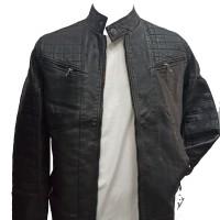 Leather Black Jacket for Men