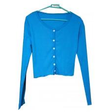 Bottom crop blue  t-shirts
