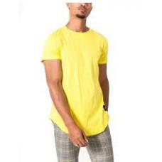 Yellow plain t-shirt