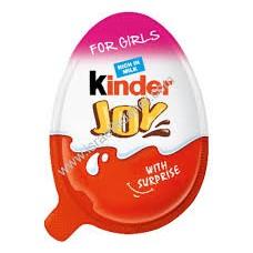 Kinder Joy Eggs - GIRL