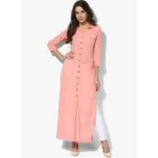 Light pink kurthi
