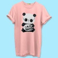 Pink Panda t-shirt